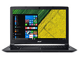 "Laptop Acer Aspire A715-72G-74MR / 15.6"" FullHD / i7-8750H / 16Gb DDR4 RAM / 128GB SSD + 1.0TB HDD GeForce GTX 1050Ti 4Gb DDR5 / Linux / AUA_20180604 /"