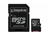 microSDHC Kingston Canvas Select 256GB / SD adapter / 400x / SDCS/256GB