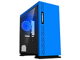 Case mATX GameMax EXPEDITION H605 / Transparent Panel / Blue / Red