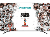 "SMART TV Hisense H65A6500 / 65"" DLED 3840x2160 UHD / PCI 1800 Hz / VIDAA U2.5 OS / Metal Frame / Speakers 2x15W Dolby Audio / Silver"