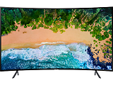 "Curved SMART TV Samsung UE55NU7372 / 55"" 3840x2160 UHD / Tizen OS / PQI 1400Hz / HDR10+ / Speakers 2x10W / VESA / Black"