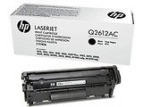 Laser Cartridge HP Q2612AC Black