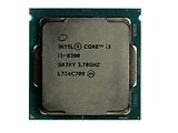 CPU Intel i3-8300 / LGA1151 / Intel UHD Graphics 630 / Tray
