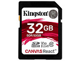 SD Kingston Canvas React / SDR/32GB / 32GB / Ultimate 633x / Class10 UHS-I U3