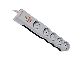 Surge Protector Tuncmatik / 5 Outlets / 1050Joules / White