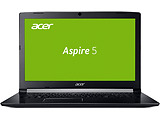 "Laptop Acer Aspire A517-51G-5553 / 17.3"" FullHD / Quad Core i5-7200U / 4Gb DDR4 / 1.0TB HDD / Intel HD Graphics 520 / Linux / NX.GSTEU.018 / Black"