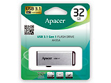 USB3.1 Apacer AH35A / 32GB / Slider / AP32GAH35AS-1 Silver