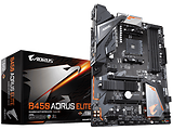 MB GIGABYTE B450 AORUS Elite / Socket AM4 / AMD B450 / Dual 4xDDR4-3200 / APU AMD graphics / ATX