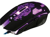 Mouse Qumo Annihilator / Optical / 1200-3200 dpi / 6 buttons / Soft Touch / Black