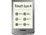 "PocketBook Touch Lux 4 627 / 6"" E InkCarta / Wi-Fi / Frontlight / Silver"
