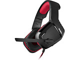 Headset Sven AP-G858MV / 108dB / Non-tangling cable / Red