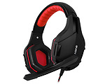 Headset Sven AP-G850MV / Non-tangling cable / Red