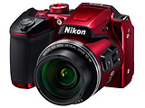 Camera Nikon Coolpix B500 + BONUS MB H-XS-E / Red / Black