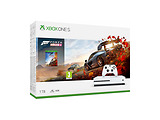 Game Console Microsoft Xbox One S 1.0TB + Forza Horizon 4 + Gamepad / 234-00560 / White