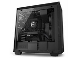 Case NZXT H700i / with CAM Smart RGB lighting / CA-H700W / Black / Blue / White