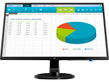 "Monitor HP N246v / 23.8"" FullHD IPS LED / 5ms / 10M:1 / 250cd / VESA / 3NS59AA#ABB / Black"