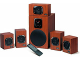 Speakers Genius SW-HF5.1 4800 / 125W / Brown