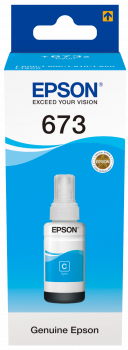 Ink Patron T673 for Epson L800/810/850/1800 / 180gr / T673 / Cyan / Magenta