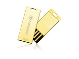 USB2.0 Transcend JetFlash T3G / 16Gb / Gold