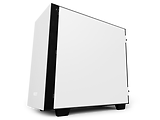 Case mATX NZXT H400i / CAM Smart RGB lighting and Fan performance / CA-H400W / White