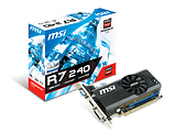 VGA MSI Radeon R7 240 / 2GB DDR3 / 64Bit / Low Profile Bracket