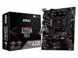 MB MSI A320M PRO-E / Socket AM4 / AMD A320 / mATX
