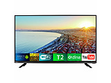 "Smart TV Bravis 43E6000 / 42"" LED / Wi-Fi / T2 / Black"