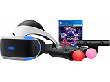 SONY VR Playstation + PS Camera + Move Twin Pack + VR Worlds / SON9983064