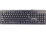 Keyboard Gembird KB-UM-106-RU / Silent / Black