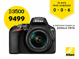 Bonus Certificat! KIT Camera NIKON D3500 / AF-P 18 - 55 mm VR / VBA550K001 / Special offer for Credit 0-0-6 /