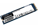 M.2 NVMe SSD Kingston A2000 / 500GB / SATAIII / 7mm / SM2263EN controller / 96-layer 3D NAND TLC / SA2000M8/500G
