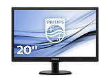 "Monitor Philips 203V5LSB26 / 19.5"" 1600x900 / 5ms / 200cd / LED10M:1 / Black"