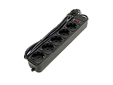 UltraPower UP3-AF-10 5 Sockets 3.0m / Black
