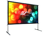 "Elite Screens 135"" 299x168cm Yard Master 2 Outdoor/Indoor Projector Screen with Stand OMS135H2"