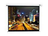 "Elite Screens 136"" 244x244cm VMAX2 Series Electric Screen with IR/Low Voltage 3-way wall box VMAX136XWS2"