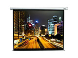 "Elite Screens 113"" 203x203cm VMAX2 Series Electric Screen with IR/Low Voltage 3-way wall box VMAX113XWS2 / White"