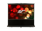 "Elite Screens 100"" 222x125cm ez Cinema Series Telescoping Pull Up Series F100NWH / Black"