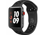 Apple Watch Series 3 42mm Sport Band / White / Grey / Nike+