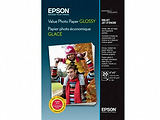 Epson Value Glossy Photo Paper 10x15cm BOGOF