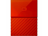 "External HDD Western Digital My Passport / 2.0TB / 2.5"" / USB 3.0 / WDBS4B0020BOR / Orange"