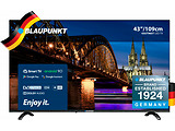 "Blaupunkt 43UT965 / 43"" LED 4K Ultra HD Smart TV Android 9.0 / Black"