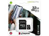 Kingston SDCS2/32GB 32GB microSD Class10 A1 UHS-I + SD adapter Canvas Select Plus