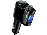 Baseus Locomotive Bluetooth MP3 Vehicle Charger CCALL-RH01 / Black