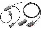 Cable Plantronics Y Adapter Trainer KIT / 27019-01 / Black