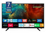 "VESTA LD43D775S / 43"" 4K UHD / IP TV READY HDR 10bit / Android TV / Black"