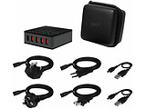 Arctic Global Charger 8000 APWCH00018A Travel Bag + Travel Cable sets / Black