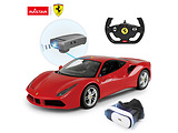 Rastar Ferrari 488 GTB & VR Glasses 1:14 / Red