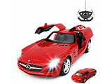 Rastar Mercedes-Benz SLS 1:14 / Red / White