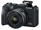 Canon EOS M6 II 15-45 IS STM + EVF-DC2 /