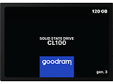 "GOODRAM CL100 SSDPR-CL100-120-G3 2.5"" SSD 120GB / Black"